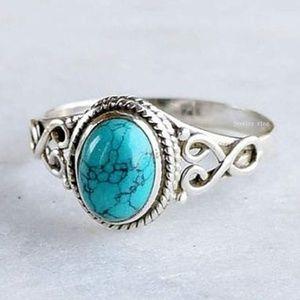 Vintage 925 Turquoise Ring.